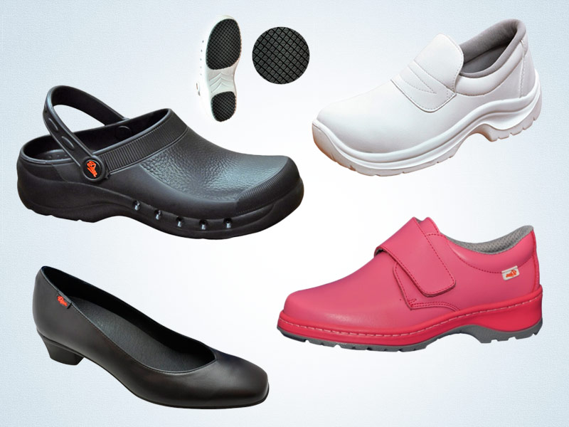 Calzado laboral calzado laboral de hosteler a o sanidad - Zapatos de cocina antideslizantes ...