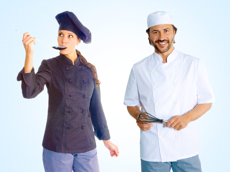 ropa de trabajo para hosteleria, estetica y comercio en suministros berto