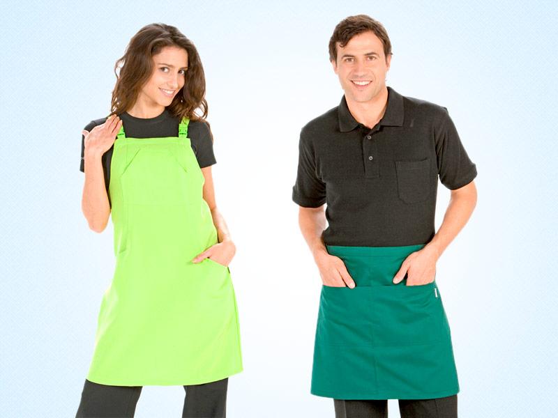ropa de trabajo y uniformes para hosteleria, estetica y comercio