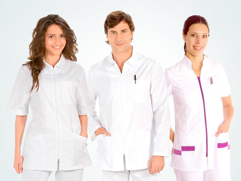 ropa de trabajo para hospitales y residencias