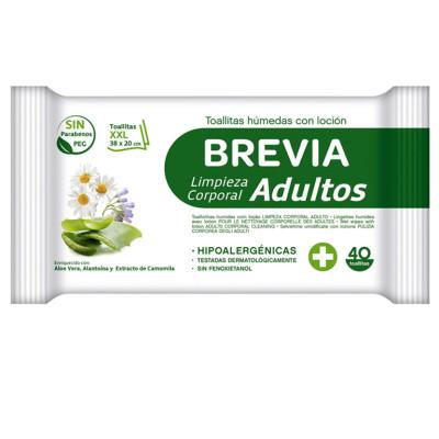 TOALLITAS BREVIA ADULTO